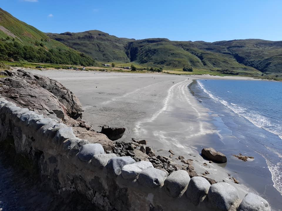 Laggan Sands beach on the Isle of Mull