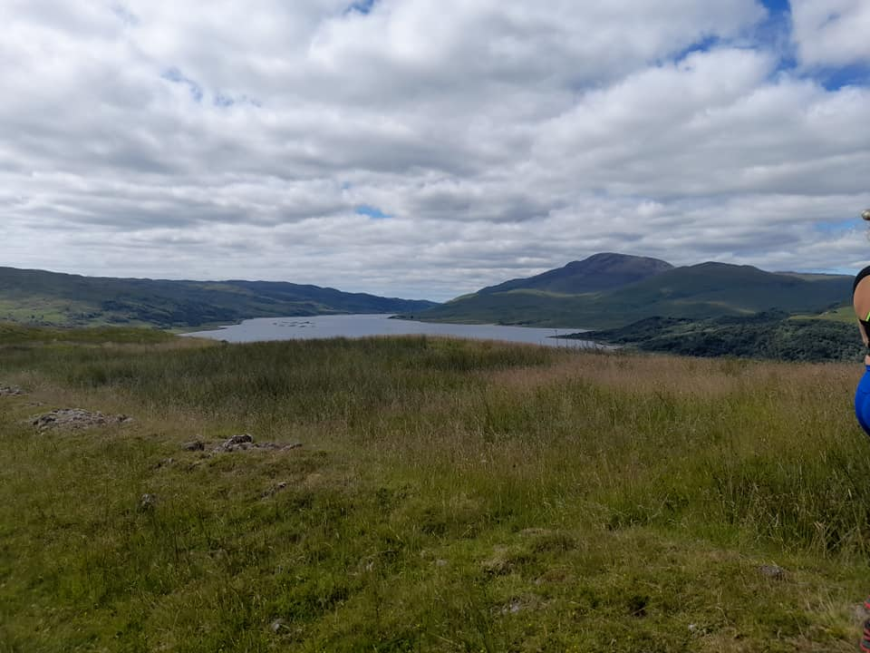 View of loch and mountains on Mull, Scotland